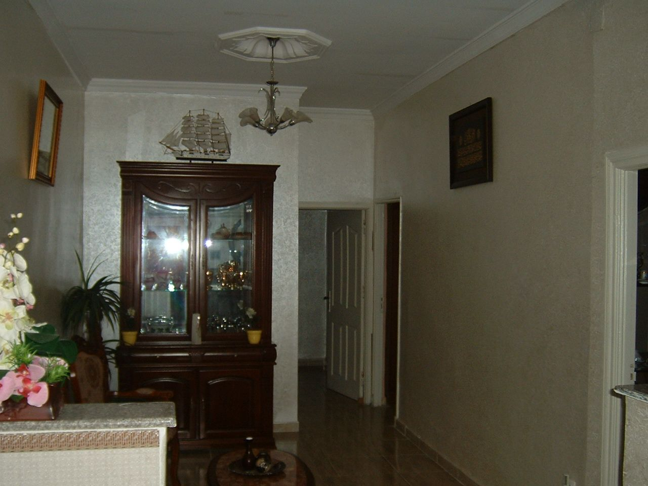 location appartement F3 RDC cheraga
