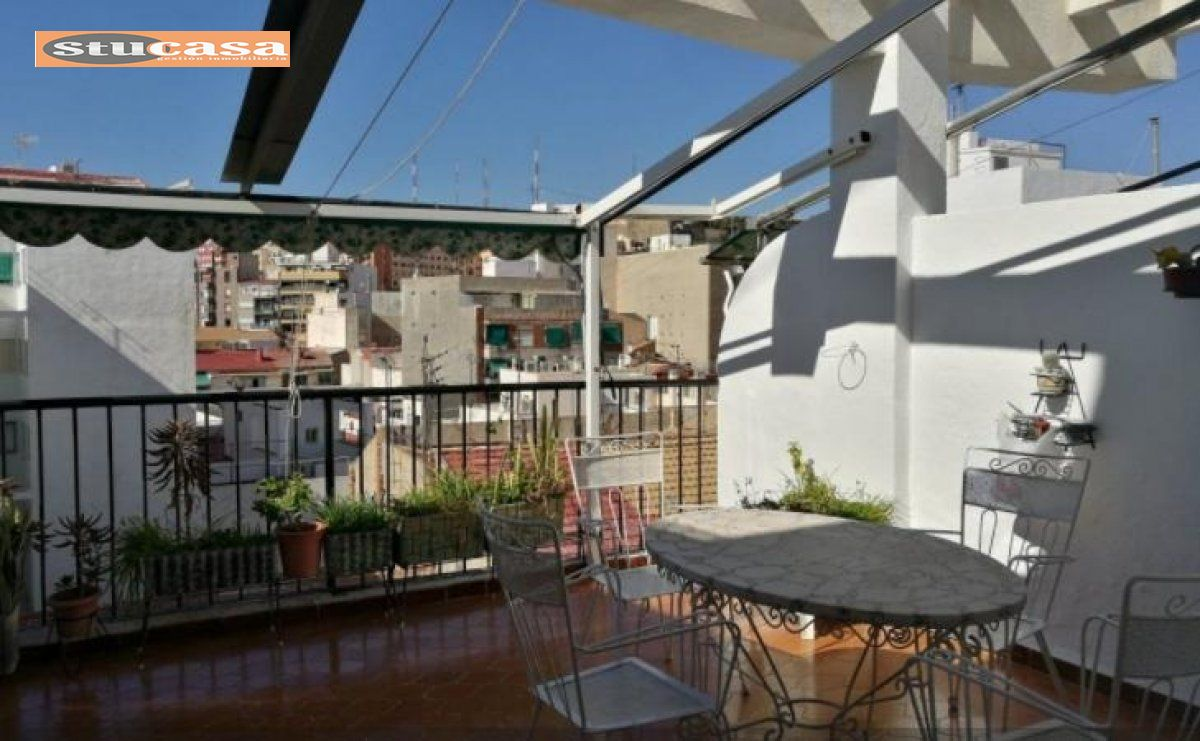 Penthouse - Alicante (Plaza de toros - Mercado Central)
